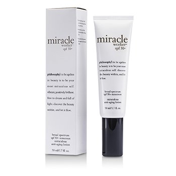 PhilosophyMiracle Worker Broad Spectrum SPF50+ Sunscreen Miraculous Anti-Aging Lotion 50ml/1.7oz