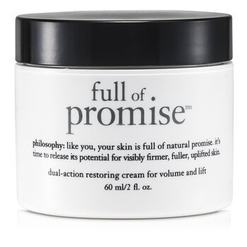 PhilosophyFull Of Promise Dual-Action Restoring Cream For Volume & Lift 60ml/2oz