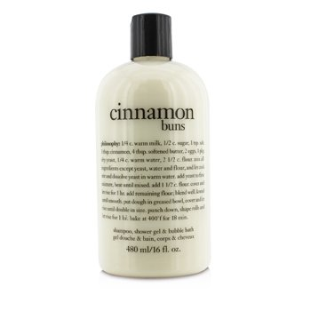 PhilosophyCinnamon Buns Shampoo, Shower Gel & Bubble Bath 480ml/16oz
