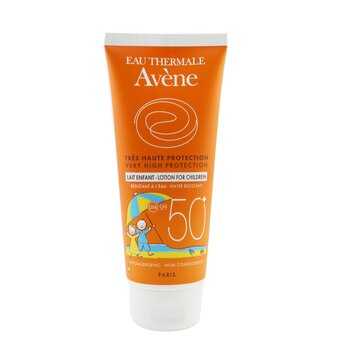 AveneVeldig H�ybeskyttende Lotion SPF 50+ (For sensitiv hud til barn) 100ml/3.3oz