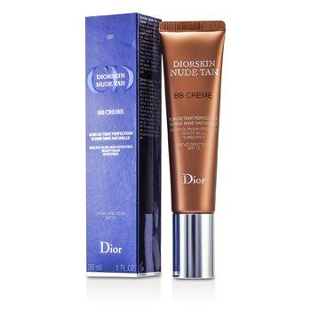 Christian Dior Diorskin Nude Tan BB Creme Healthy Glow Skin Perfecting Beauty Balm SPF 15 - # 001 30ml/1oz
