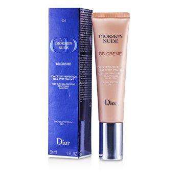Christian Dior Diorskin Nude BB Creme Nude Glow Skin Perfecting Beauty Balm SPF 10 - # 004 (Dark)  30ml/1oz