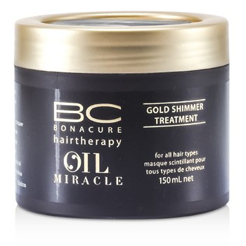 Schwarzkopf BC Oil Miracle Gold Shimmer Treatment (For All Hair Types) 150ml/5oz