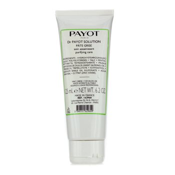Payot Les Purifiantes Pate Grise Purifying Care with Shale Extracts (Salon Size) 125ml/6.2oz