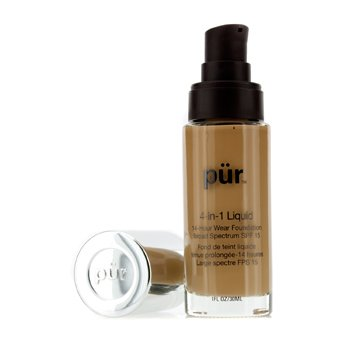 PurMinerals4 In 1 Liquid Foundation 14 Hour Wear SPF 1530ml/1oz