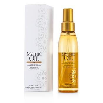 L'OrealMythic Oil Nourishing Oil (For All Hair Types) 125ml/4.2oz