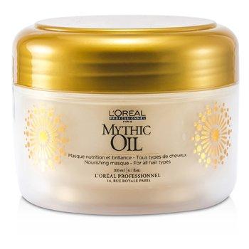 L'Oreal Mythic Oil Nourishing Masque (Para Todos Tipos de Cabelos)  200ml/6.7oz