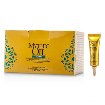 L'OrealMythic Oil Scalp Clarifying Pre-Shampoo Concentrate with Essential Oils 15x12ml/0.4oz