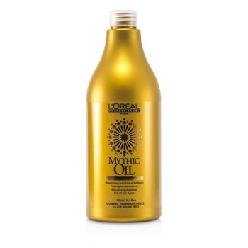 L'OrealMythic Oil Nourishing Shampoo (For All Hair Types) 750ml/25.4oz