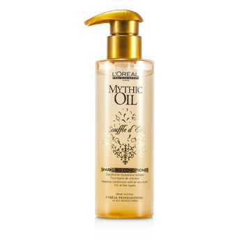 L'OrealMythic Oil Souffle d'Or Sparkling Conditioner (For All Hair Types) 190ml/6.42oz