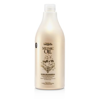 L'OrealMythic Oil Souffle d'Or Sparkling Shampoo (For All Hair Types) 750ml/25.4oz