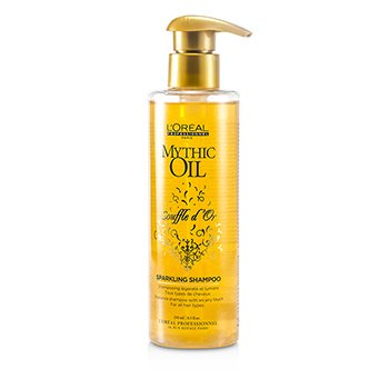 L'Oreal Mythic Oil Souffle d'Or Sparkling Shampoo (Todos tipos de cabelo)  250ml/8.5oz