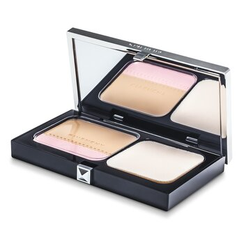 Givenchy Teint Couture Long Wear Compact Foundation & Highlighter SPF10 – # 3 Elegant Sand 10g/0.35oz
