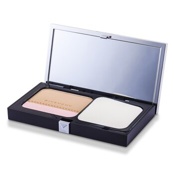 GivenchyTeint Couture Long Wear Compact Foundation & Highlighter SPF10 - # 4 Elegant Beige 10g/0.35oz