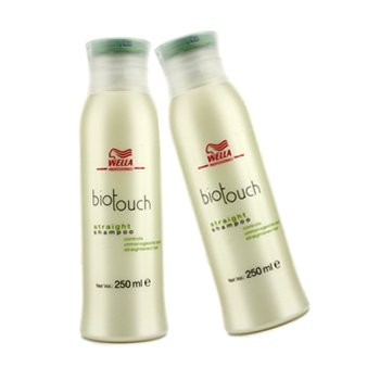BiotouchBiotouch Straight Shampoo (For Unmanageable & Straightened Hair) (MFG Date: Nov 2010) (Duo Pack) 2x250ml/8.5oz