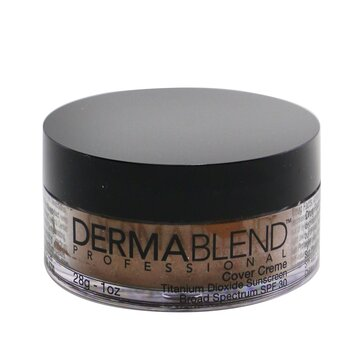 DermablendCover Creme Broad Spectrum SPF 30 (High Color Coverage) - Chocolate Brown 28g/1oz