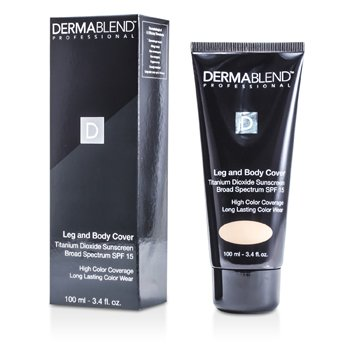 Dermablend Leg & Body Cover SPF 15 (Full Coverage & Long Wearability) - Light  100ml/3.4oz