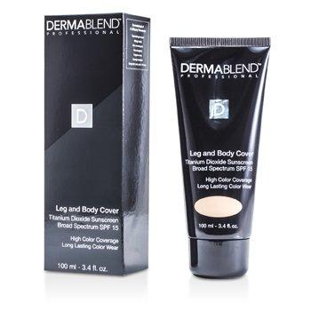 Dermablend Leg & Body Cover SPF 15 (Full Coverage & Long Wearability) - Light  100ml/3.4oz