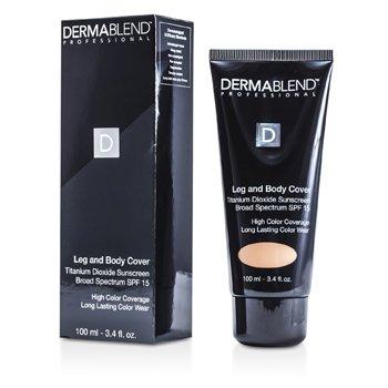 Dermablend Leg & Body Cover Broad Spectrum SPF 15 (Full Coverage & Long Wearability) - Bronze 100ml/3.4oz