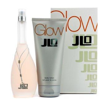 J. LoGlow Coffret: toaletna voda u spreju 100ml/3.4oz + losion za tijelo 200ml/6.7oz 2pcs