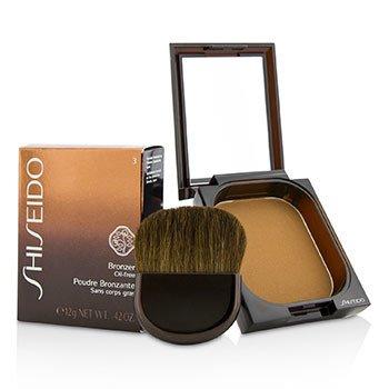 Shiseido Յուղազերծ Բրոնզեր - #3 Մուգ  12g/0.42oz