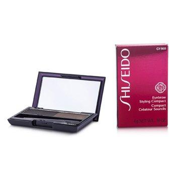 Shiseido Eyebrow Styling Compact - # GY901 Deep Brown  4g/0.14oz