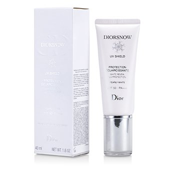 Christian DiorDiorsnow White Reveal UV Shield Protecci�n UV SPF 50 - # Pearly White 40ml/1.6oz