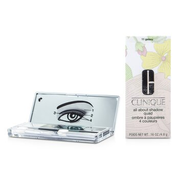 Clinique All About Shadow Quad – # 11 Galaxy 4×1.2g/0.04oz