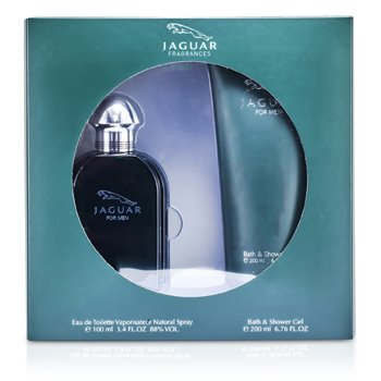 JaguarJaguar Coffret: Eau De Toilette Spray 100ml/3.4oz + Gel de Ba�o & Ducha 200ml/6.76oz 2pcs