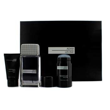 Adam Levine Adam Levine Coffret: Eau De Toilette Spray 100ml/3.4oz + After Shave Balm 50ml/1.7oz + Deodorant Stick 75g/ 2.6oz 3pcs