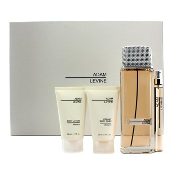 Adam Levine Adam Levine Coffret: Edp Spray 100ml/3.4oz + Body Lotion 50ml/1.7oz + Body Wash 50ml/1.7oz + Edp Spray 10ml/0.34oz 4pcs