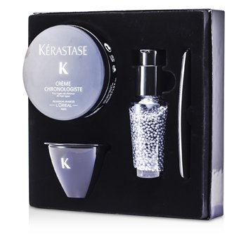 KerastaseChronolgiste Essential Restorative Concentrate Kit (For All Hair Types) 4pcs