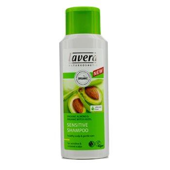 Lavera Organic Almond & Organic Witch Hazel Champ� Sensible (Para Cuero Cabelludo Sensible e Irritado)  200ml/6.6oz