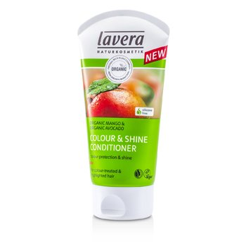 Lavera Organic Mango & Organic Avocado Colour & Shine Conditioner (For Colour-Treated & Highlighted Hair) 150ml/5oz