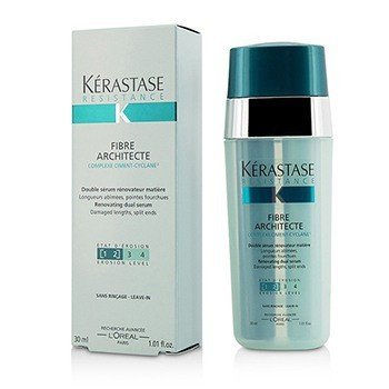 KerastaseResistance Fibre Architecte Renovating Dual Serum (For Very Damaged Lengths, Split Ends) 30ml/1.01oz