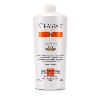 KerastaseNutritive Lait Vital Incredibly Light - Exceptional Nutrition Care (For Normal to Slightly Dry Hair) 1000ml/34oz