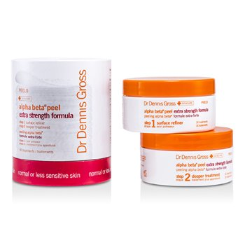 Dr Dennis GrossAlpha Beta Peel - Extra Strength Formula (For Normal / Less Sensitive Skin; Jar) 30 Treatments