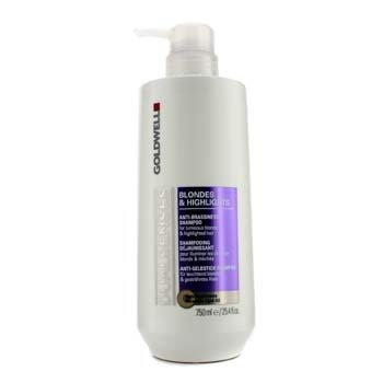 GoldwellDual Senses Blondes & Highlights Anti-Brassiness Shampoo (For Luminous Blonde & Highlighted Hair) 750ml/25.4oz
