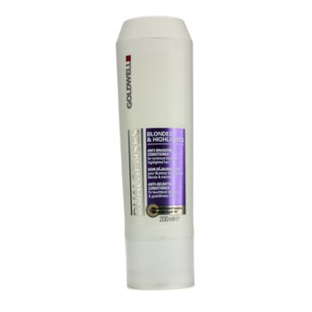 GoldwellDual Senses Blondes & Highlights Anti-Brassiness Conditioner (For Luminous Blonde & Highlighted Hair) 200ml/6.7oz