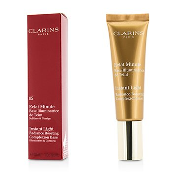 Clarins Instant Light Radiance Boosting Complexion Base - # 05 Golden Bronze  30ml/1oz
