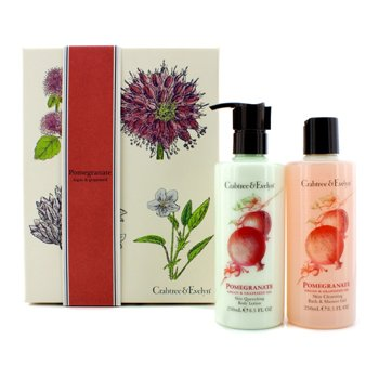 Crabtree & EvelynPomegranate, Argan & Grapeseed Perfect Pair: Gel de Ba�o & Ducha 250ml +  Loci�n Corporal 250ml 2pcs