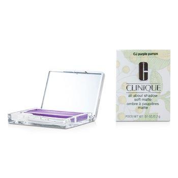 Clinique All About Shadow – # CJ Purple Pumps (Soft Matte) 2.2g/0.07oz
