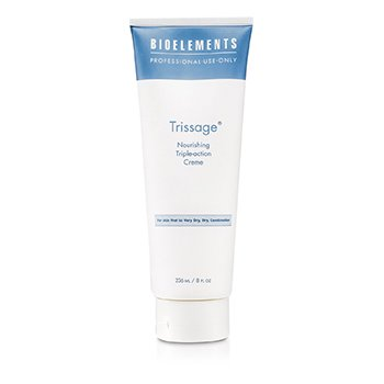 Bioelements Trissage - Nourishing Triple-Action Cream (For Very Dry  Dry  Combination Skin) (Salon Size) 236ml/8oz
