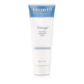 Bioelements Trissage - Nourishing Triple-Action Cream (Eritt�in kuivalle, kuivalle ja sekaiholle) (kampaamokoko)  236ml/8oz