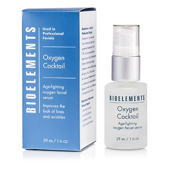 Bioelements Oxygen Cocktail - Age-Fighting Oxygen Facial Serum 29ml/1oz