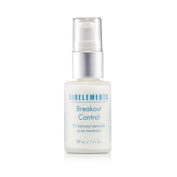 Bioelements Breakout Control - 5% Benzoyl Peroxide Acne Treatment (For Very Oily  OIly  Combination  Acne Skin Types) 29ml/1oz