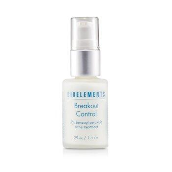 BioelementsBreakout Control - 5% Per�xido de Benzoilo Tratamiento de Acn� (Para Tipos de Piel Muy Grasos, Grasos, Mixtos, Con Acn�) 29ml/1oz
