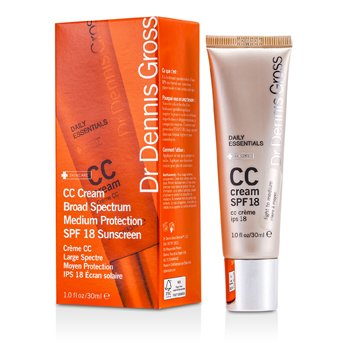 Dr Dennis GrossDaily Essentials Crema CC SPF 18 (Light to Medium) 30ml/1oz