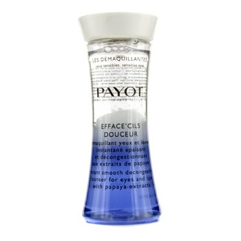 Payot Les Demaquillantes Efface' Cils Douceur Instant Smooth Decongesting Cleanser For Eyes & Lips  125ml/4.2oz