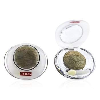 Pupa Luminys Baked Eyeshadow # 07 Golden Green (Unboxed  Label Slightly Defect) (Duo Pack) 2x2.2g/0.078oz